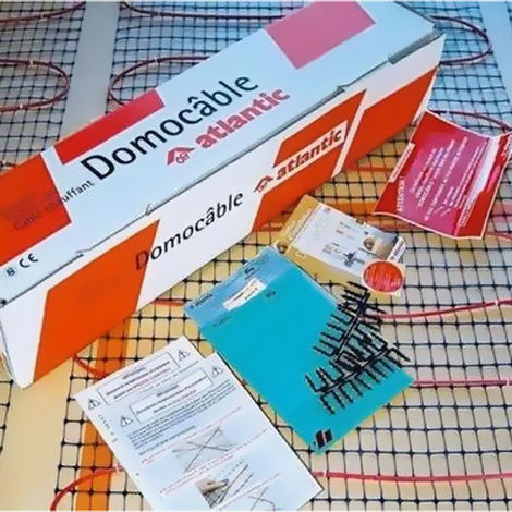 Kit câble plancher chauffant électrique l85 Domocable 1450W
