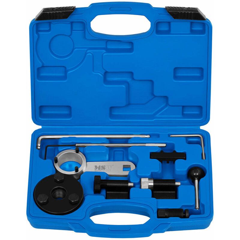 Helloshop26 - Kit calage distribution auto voiture - VW - Audi - Seat - Skoda - Pour VAG 1.6 et 2.0 TDI