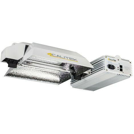 KIT CALITEK PRO DE DOUBLE ENDED FLORAISON 600-1150W E-Link + dimmer Super Par 15%