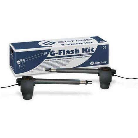 Motori Per Cancelli A Due Ante.Kit Cancelli A Due Ante Battenti G Flash Kit 868 Mhz Jlc 230v Genius