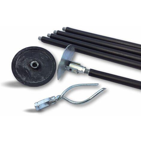Kit cannes de curage canalisations   Ø 45 à 100 mm   Débouchage curetage - Kit vert - Kit de débouchage