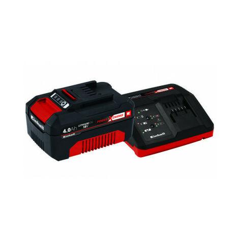 """main image of """"Kit Cargador de batería PXC 18 V + batería 18V 4Ah Einhell"""""""