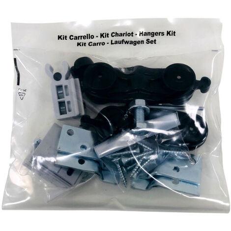 Kit carrello 100kg Doortech by Scrigno