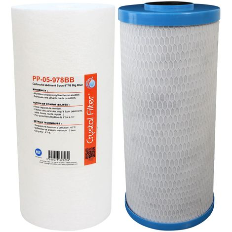 Kit cartouches pour installations WaterKalk / Big Duo / ProKalk (YdroKalk / YdroPure)