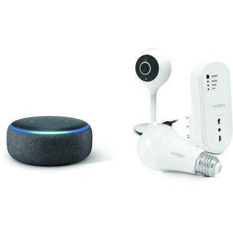 Kit casa intelligente (Amazon echo dot)