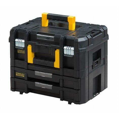 Kit Case + Koffer 2 Schubladen Tstak-Fatmax STANLEY 21,5 l - 44 x 33,17 x 32,6 cm - FMST1-71981