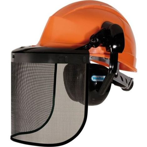 Kit Casque debroussaillage forestier anti bruit protection Securite intégrale