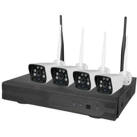 Kit CCTV DVR Con 4 Camaras WiFi