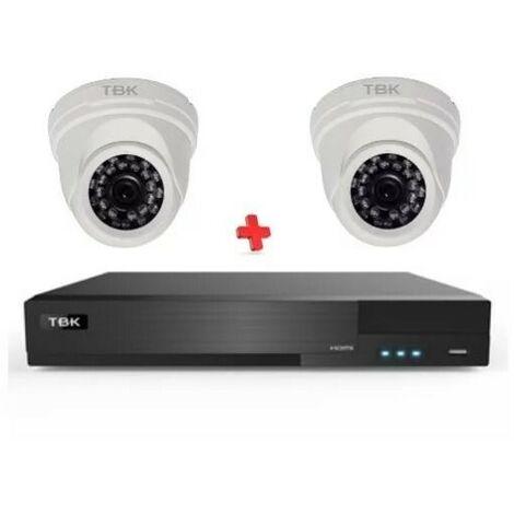 KIT CCTV INDOOR TVI