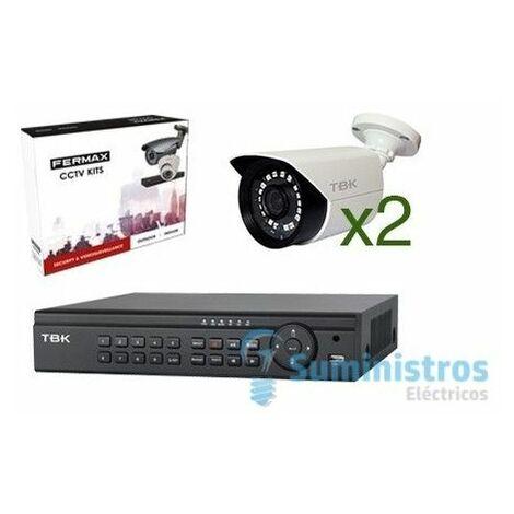 KIT CCTV OUTDOOR TVI