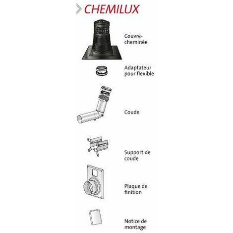 Kit chemilux 2en1 80/125 ocre