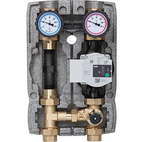 """Kit circuit de chauffage Easyflow DN25(1""""),melangeur 3-voies, compteur, Wilo Para 25/"""