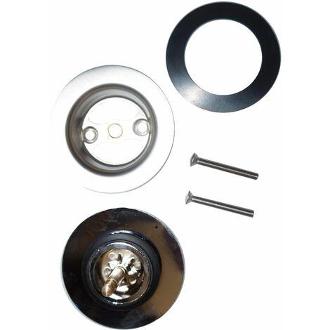 Kit Clapet et grille de vidage baignoire diamètre 70 mm
