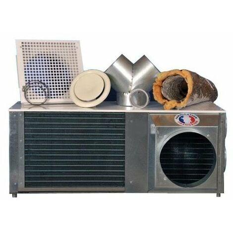 Kit climatisation réversible 5.3 K pose en comble gainable sans unité extérieure