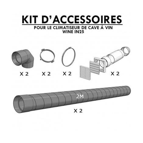 Kit climatiseur de cave Winemaster Fondis