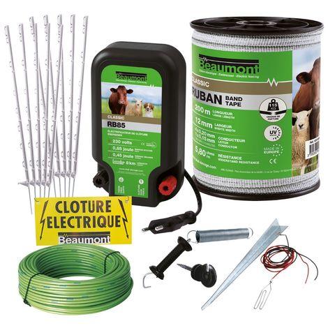 Kit clôture anti-fugue pour grand chien BEAUMONT