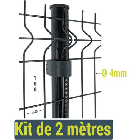 Kit clôture Easy Home - 2 mètres