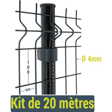 Kit clôture Easy Home - 20 mètres