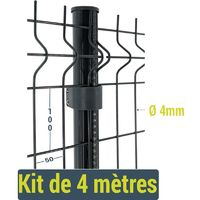 Kit clôture Easy Home - 4 mètres