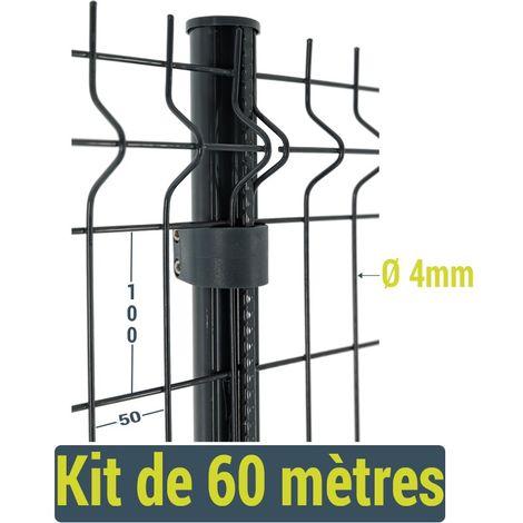 Kit clôture Easy Home - 60 mètres