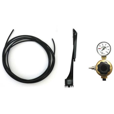 Kit CO2 Biogents Mosquitaire Piege a moustique exterieur - Alu