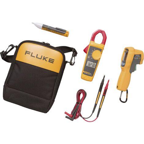 Kit combo Fluke 62 MAX+/323/1AC thermomètre infrarouge, pince ampèremétrique et détection de tension W29954