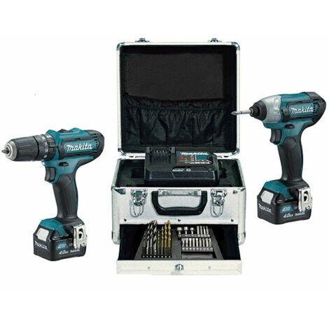 Kit Combo HP331D+TD110D 10,8V 4,0Ah CLX202SMX1