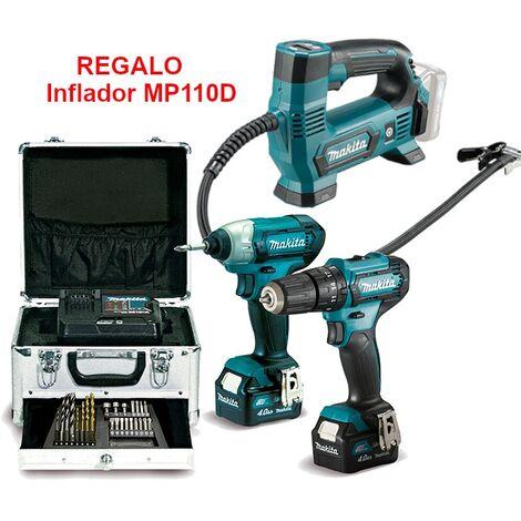 Kit Combo HP333D+TD110D 12,0V 4,0Ah CLX228SMX1
