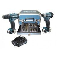 Kit combo Makita CLX202SAX2 trapano + avvitatore impulsi 10.8V