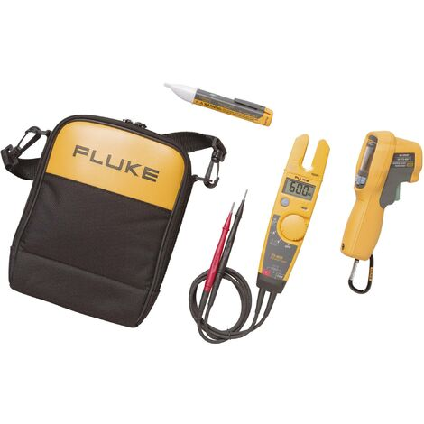 Kit combo pince ampèremétrique + thermomètre IR + détecteur de tension Fluke T5-600/62MAX+/1AC KIT W29953