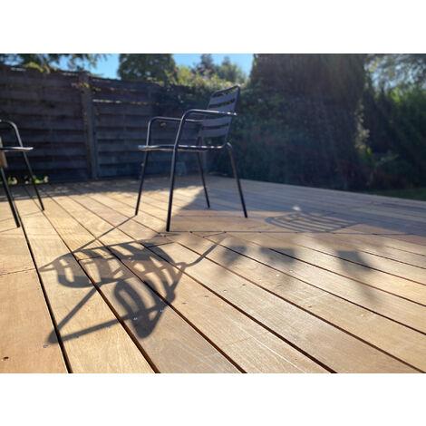 [KIT COMPLET] 10m2 Terrasse Bois Exotique Ipe (compris Lambourdes, Visseries Et Livraison Sur Rendez-vous)