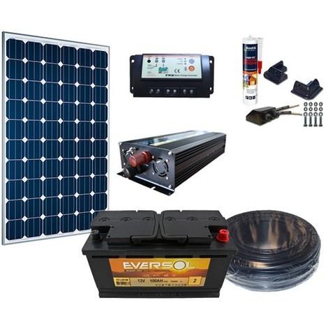 Kit Complet 12V 80W / 343Wh