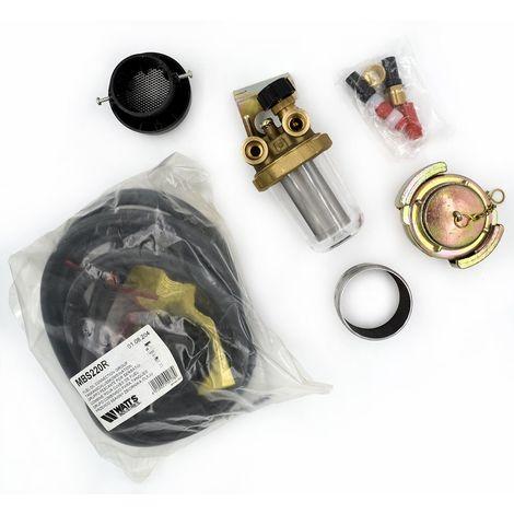 kit complet colimazout bitube filtre RG2 Watts pour cuve acier