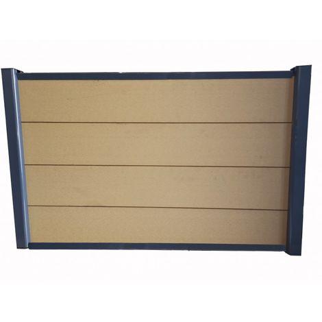 Kit complet de départ clôture 1,50 L x 1,80 H (3 coloris)