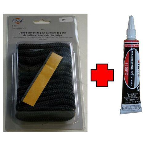 Kit complet de réparation joint rond Ø 8 mm