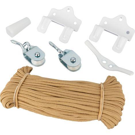Kit complet pour montage store Ballauff - Cordon chamois