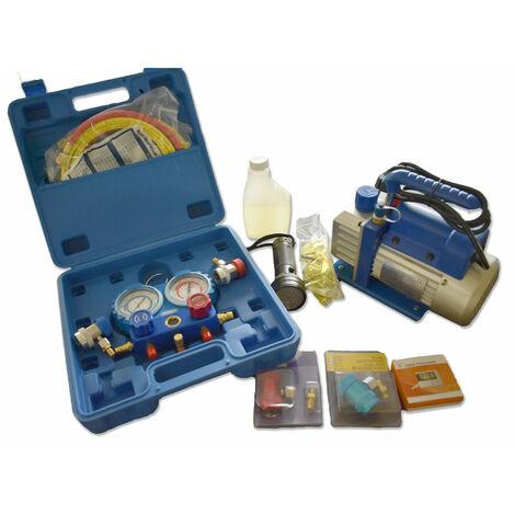 Kit complet pour recharge de climatisation pour duracool 12a