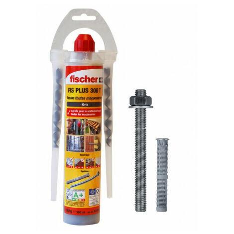 Kit complet scellement chimique FIS PLUS 300 T - FISCHER