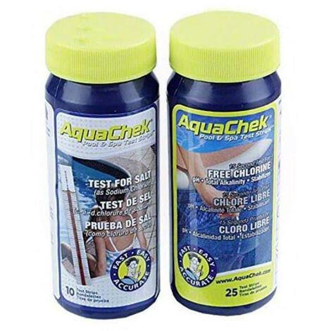 Kit testeur spécial électrolyse Aquachek de piscine - Rouge