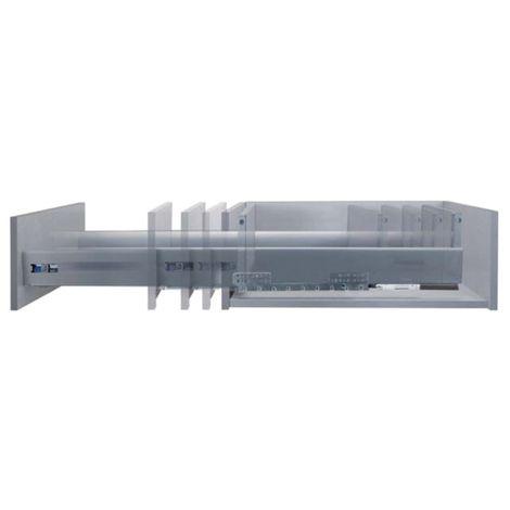 """main image of """"Kit complet tiroir facilbox 84 en 350mm. s/tot - arg - (coulisse + cote + fixation av+ar). silent motion."""""""
