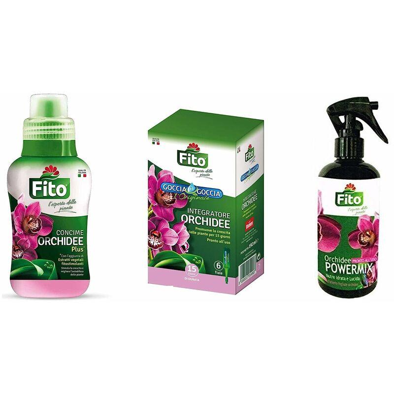 per tutta la famiglia quantità limitata nuovo stile Kit Completo Concime Orchidee Liquido Goccia a Goccia e Spray Per La Cura  Delle Tue Orchidee Concime Goccia a Goccia con 6 fiale + Concime Liquido  250 ...
