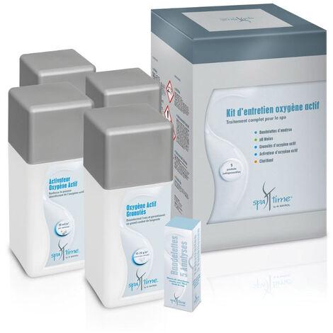 """main image of """"kit completo de productos para tratamiento con oxígeno activo - kit spa oxygene actif - bayrol -"""""""