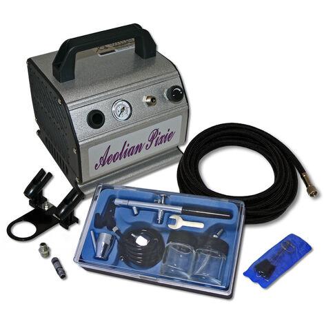 """main image of """"Kit compresseur Airbrush AS 176 pour débutants avec un pistolet aérographe + accessoires"""""""