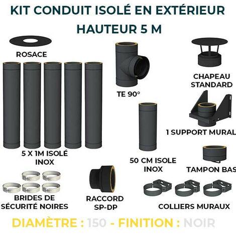KIT CONDUIT ISOLE EN EXTERIEUR - 5 MÈTRES