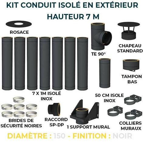 KIT CONDUIT ISOLE EN EXTERIEUR - 7 MÈTRES