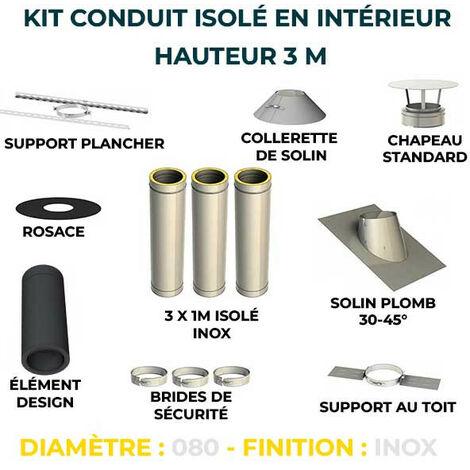 KIT CONDUIT ISOLE EN INTERIEUR - 3 MÈTRES