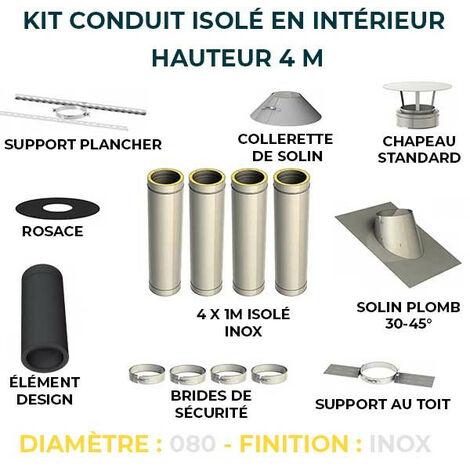 KIT CONDUIT ISOLE EN INTERIEUR - 4 MÈTRES