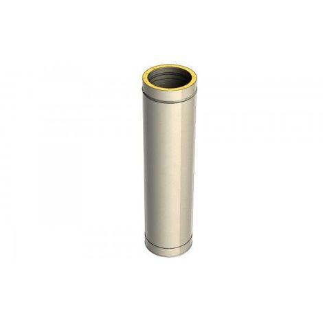 Kit Conduit isolé intérieur INOX pour appareil à granulés