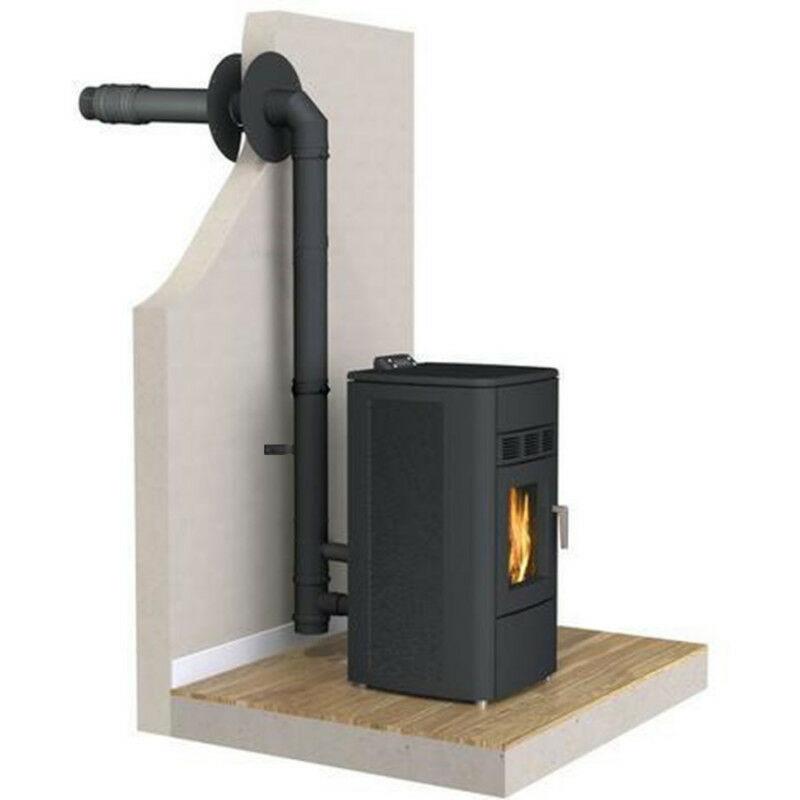 kit conduits sortie facade pour poeles a granules etanche. Black Bedroom Furniture Sets. Home Design Ideas
