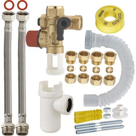kit conexión fácil para calentador de agua